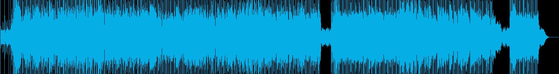 女性Vo 軽快でアップテンポなラブソングの再生済みの波形