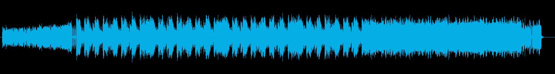 戦闘 バトル サイバー ロック 60秒版の再生済みの波形