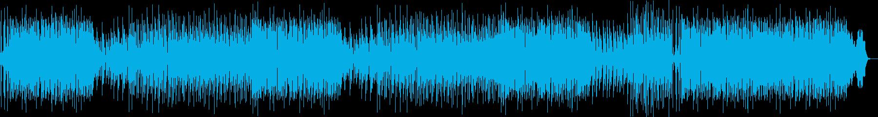 心踊るトロピカルハウスの再生済みの波形