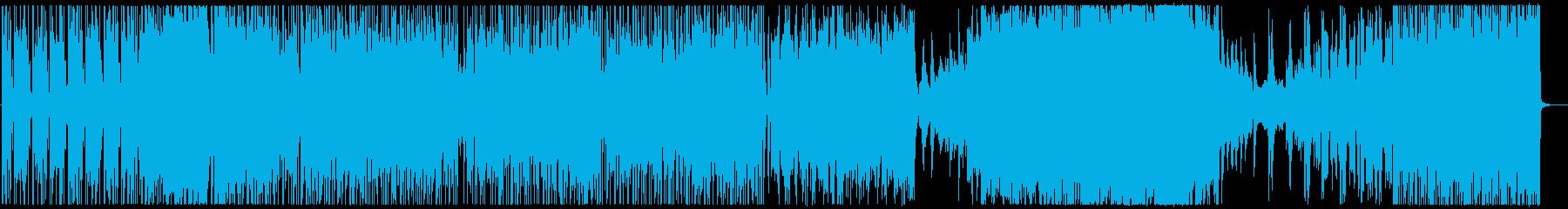 ピアノソナタのfusionアレンジの再生済みの波形