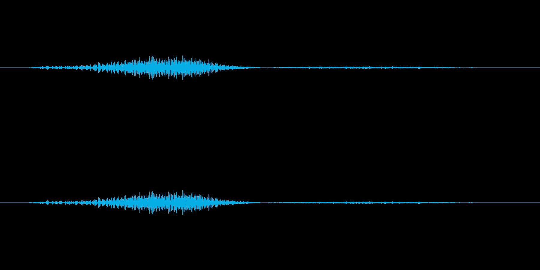 【子供の戦闘ボイス】ぐっ……!(復帰)の再生済みの波形