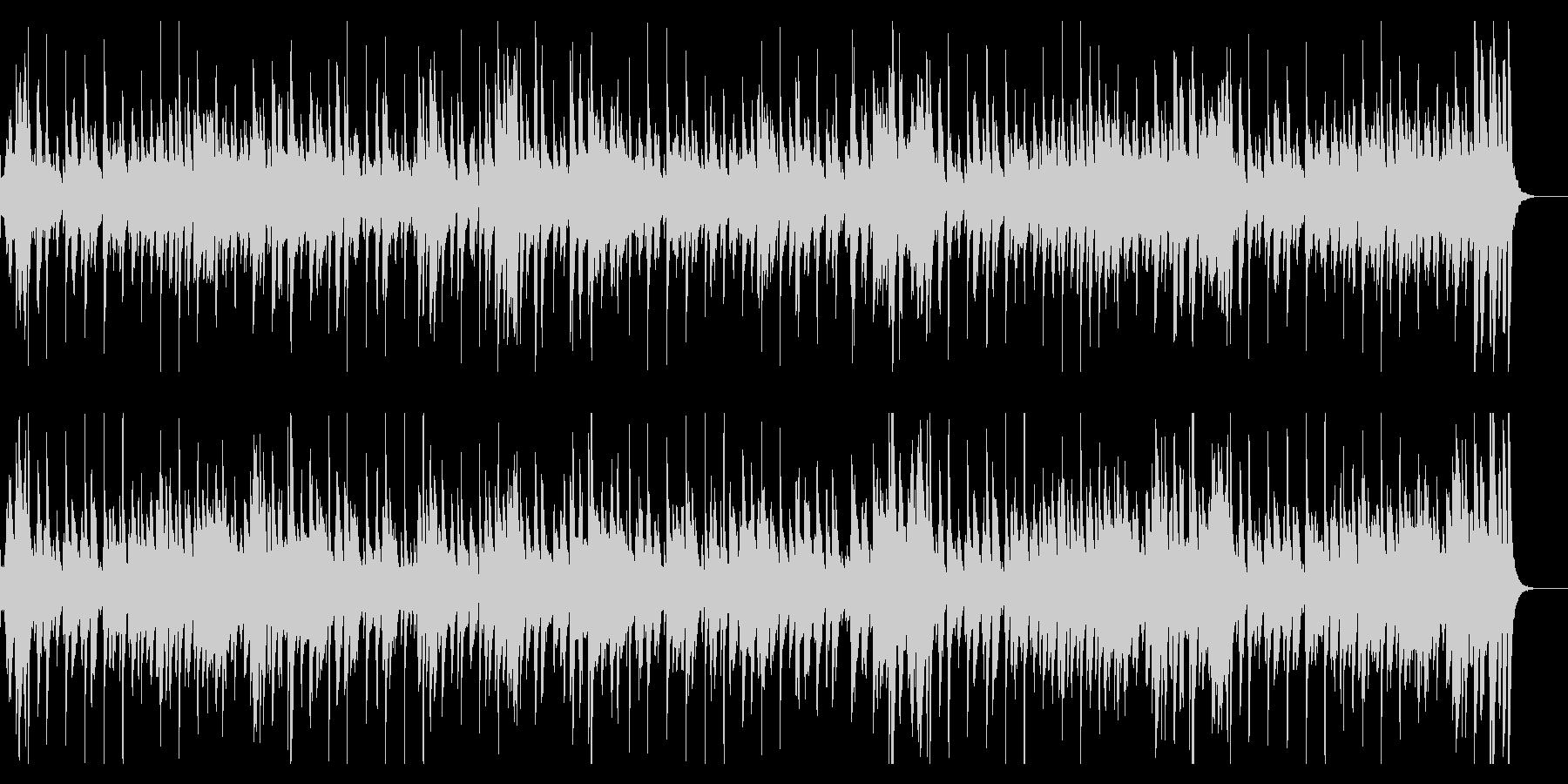 お洒落なジャズピアノトリオ27キャッチーの未再生の波形