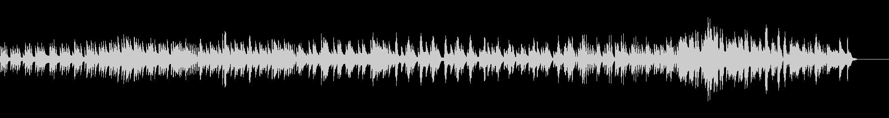 テンポ感あるハープ曲の未再生の波形