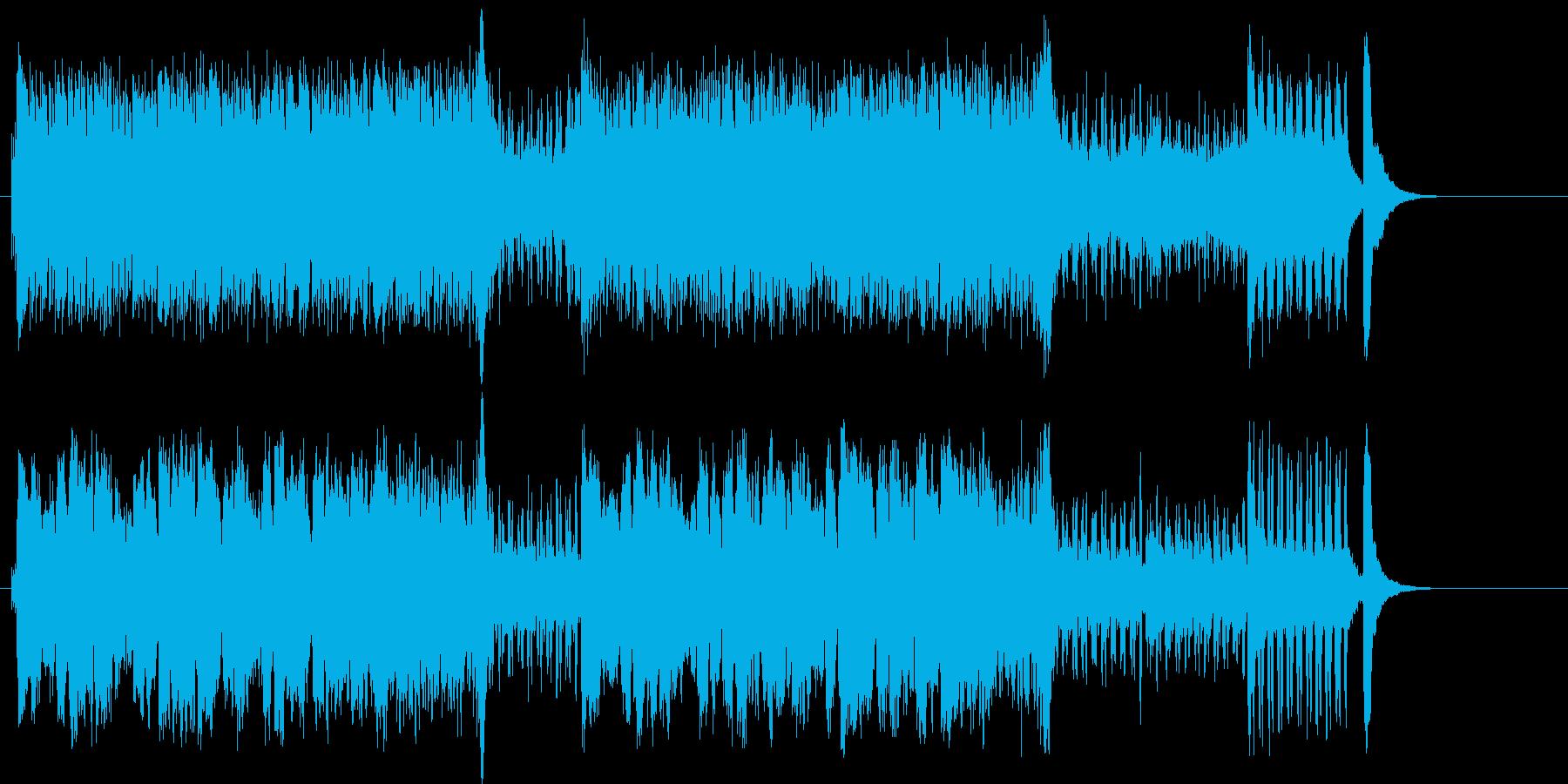 臨場感と興奮のマイナー・オーケストラ楽曲の再生済みの波形