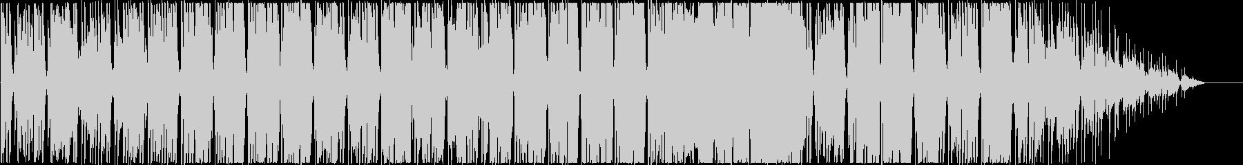 しっとりとしたスローテンポなR&Bポップの未再生の波形