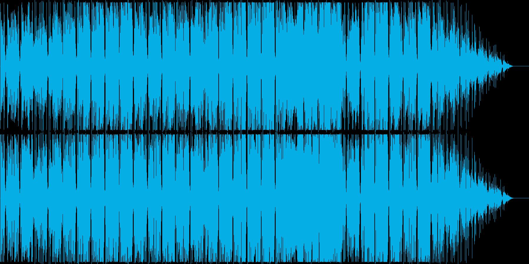 しっとりとしたスローテンポなR&Bポップの再生済みの波形
