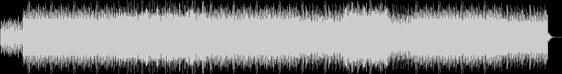 無機質なミニマルテクノの未再生の波形