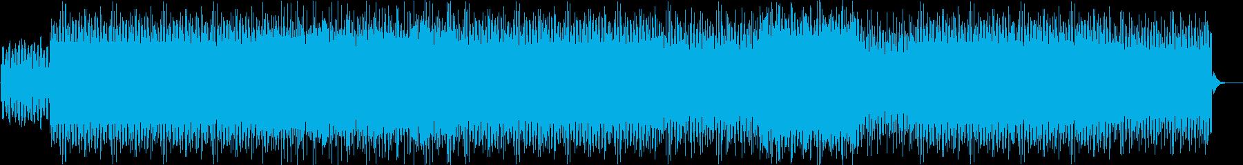 無機質なミニマルテクノの再生済みの波形