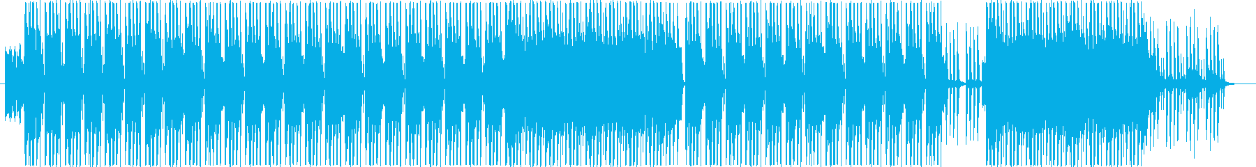 洋楽、メインストリームヒップホップ♫の再生済みの波形