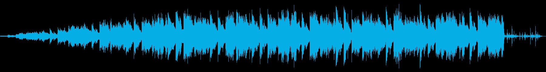 印象的なエレピのリフとブラスのチルアウトの再生済みの波形
