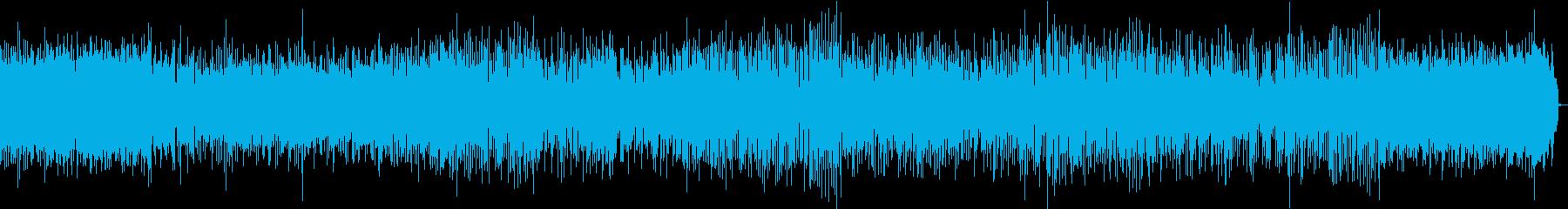 ジャズ・ブルースの定番の再生済みの波形