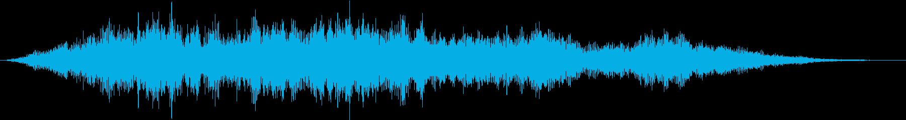 SF / 宇宙の世界的な音の再生済みの波形