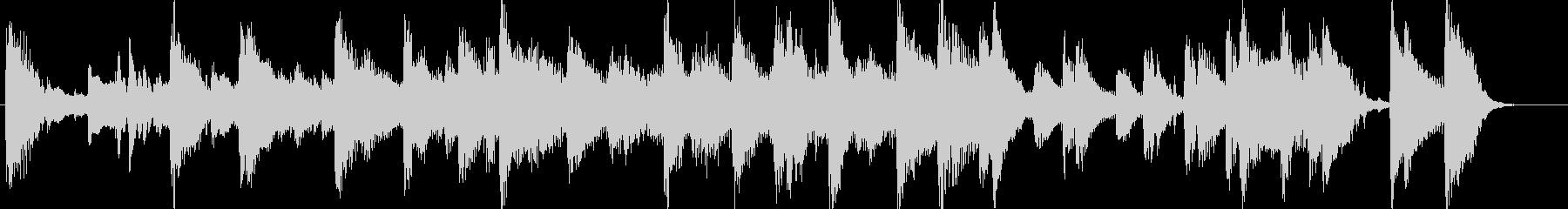 CM用BGM出囃子クリスマスpopピアノの未再生の波形
