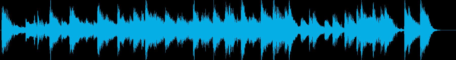 CM用BGM出囃子クリスマスpopピアノの再生済みの波形