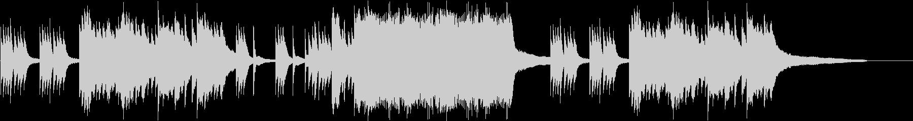 切ないゲームなどに合いそうなピアノ曲3の未再生の波形