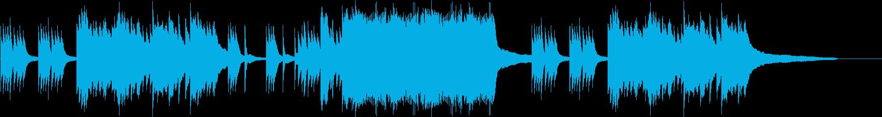 切ないゲームなどに合いそうなピアノ曲3の再生済みの波形