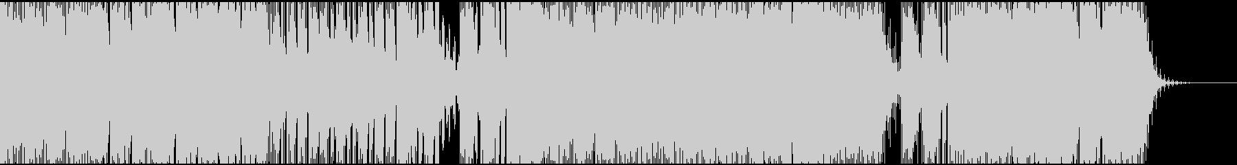 爽やかなトランスサウンドの未再生の波形