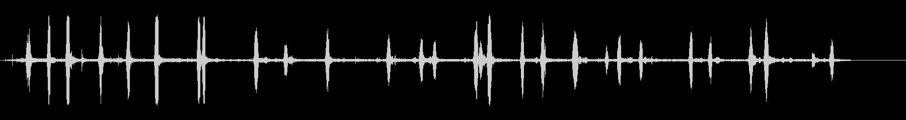 martmart -martinetの未再生の波形