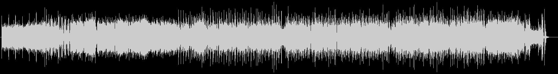 アニメのOP風のキャッチーな曲 レトロ風の未再生の波形