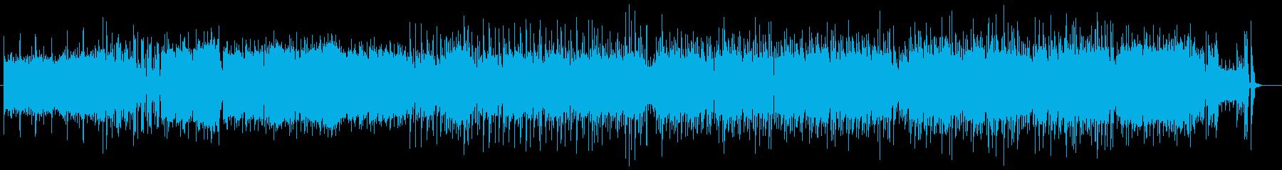 アニメのOP風のキャッチーな曲 レトロ風の再生済みの波形