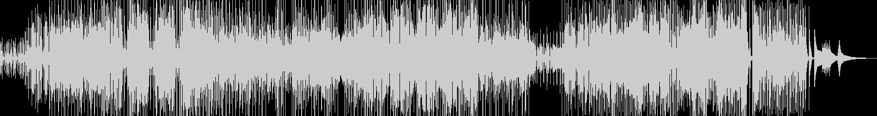 三味線・ユーモラスなジャズ+サックスの未再生の波形