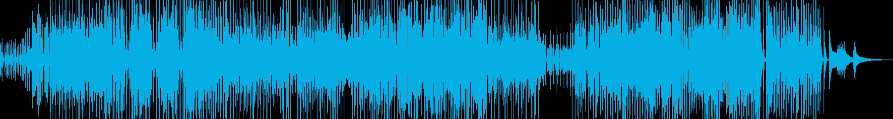 三味線・ユーモラスなジャズ+サックスの再生済みの波形