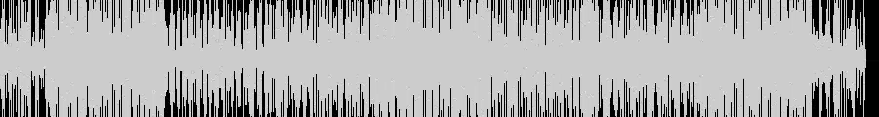 不気味でカッコイイHIPHOP楽曲の未再生の波形
