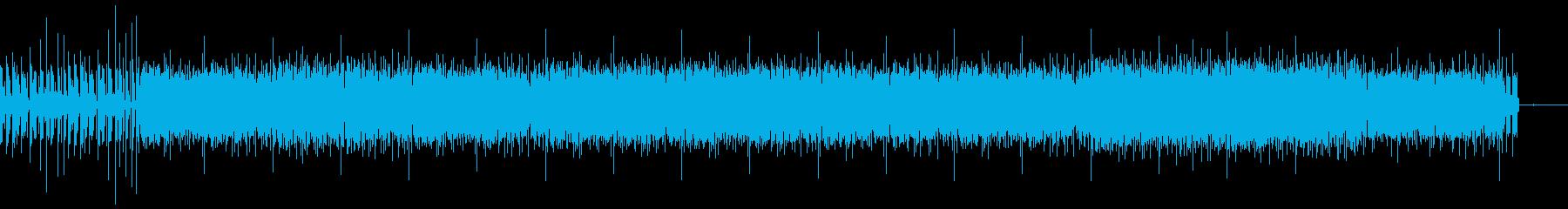 産業要素を備えた「機械」溝。 「S...の再生済みの波形