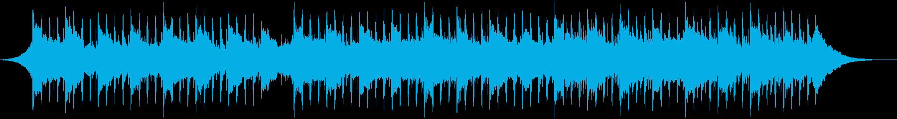 ソフトインタビュー(60秒)の再生済みの波形