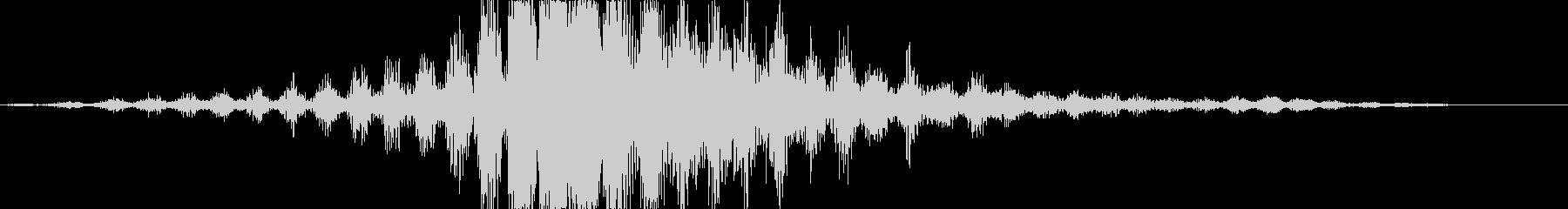 CINEMATIC WHOOSH 05の未再生の波形