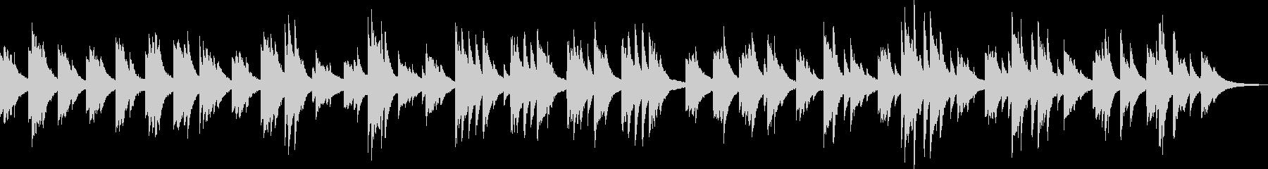 そっと吹き抜ける風(ピアノ、爽やか)の未再生の波形