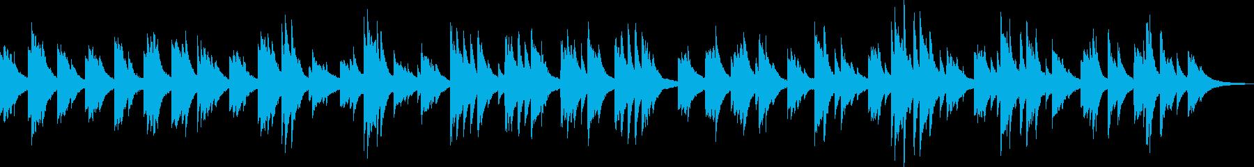 そっと吹き抜ける風(ピアノ、爽やか)の再生済みの波形
