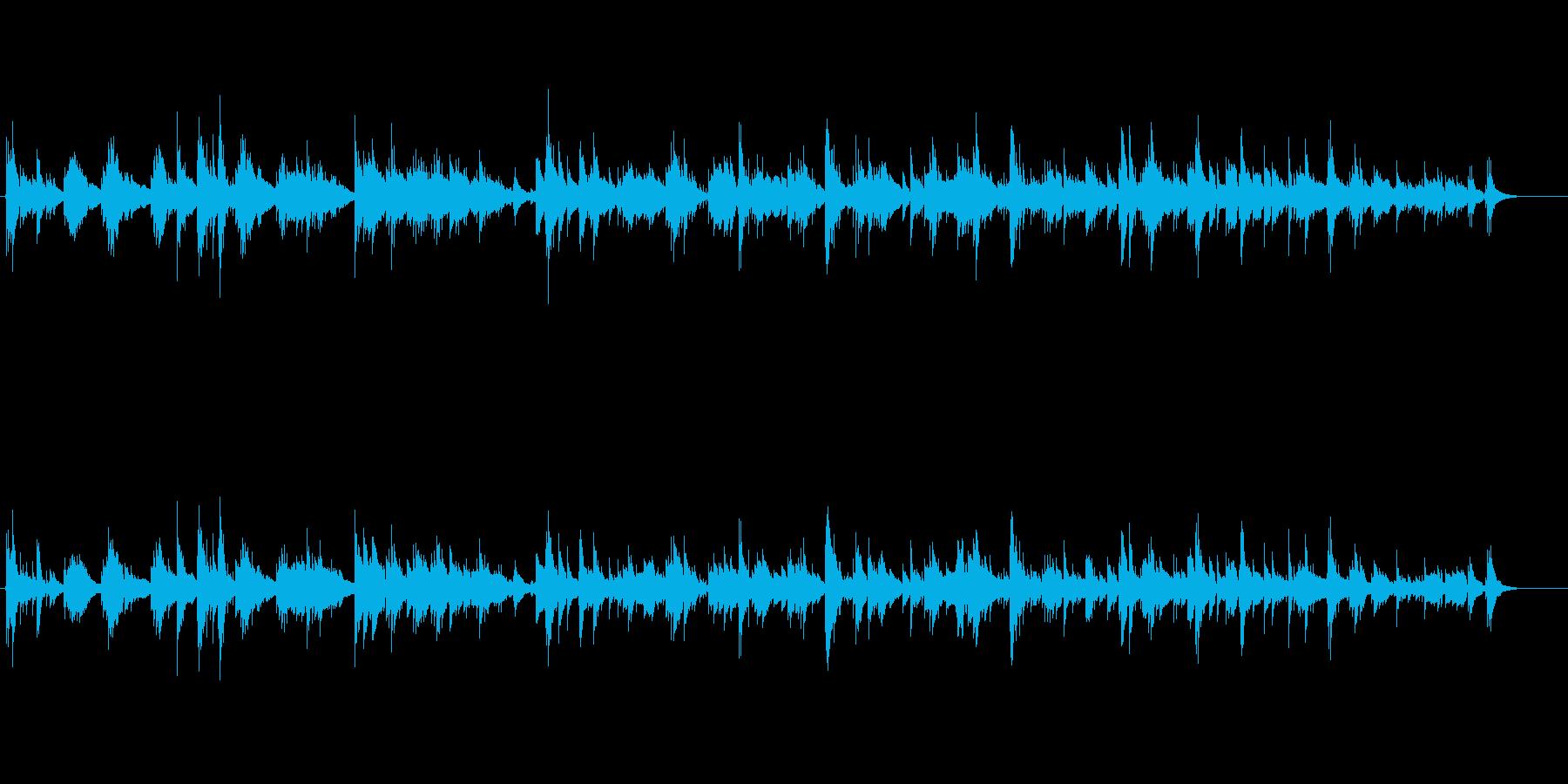 ゆったりした日常に流れる癒しのアコギの再生済みの波形