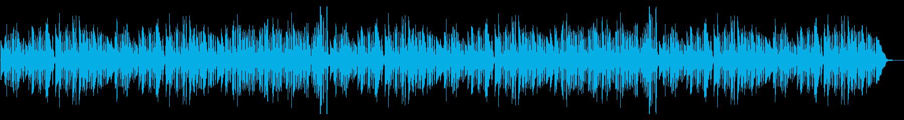 【YouTube】かわいいピアノソロ曲の再生済みの波形