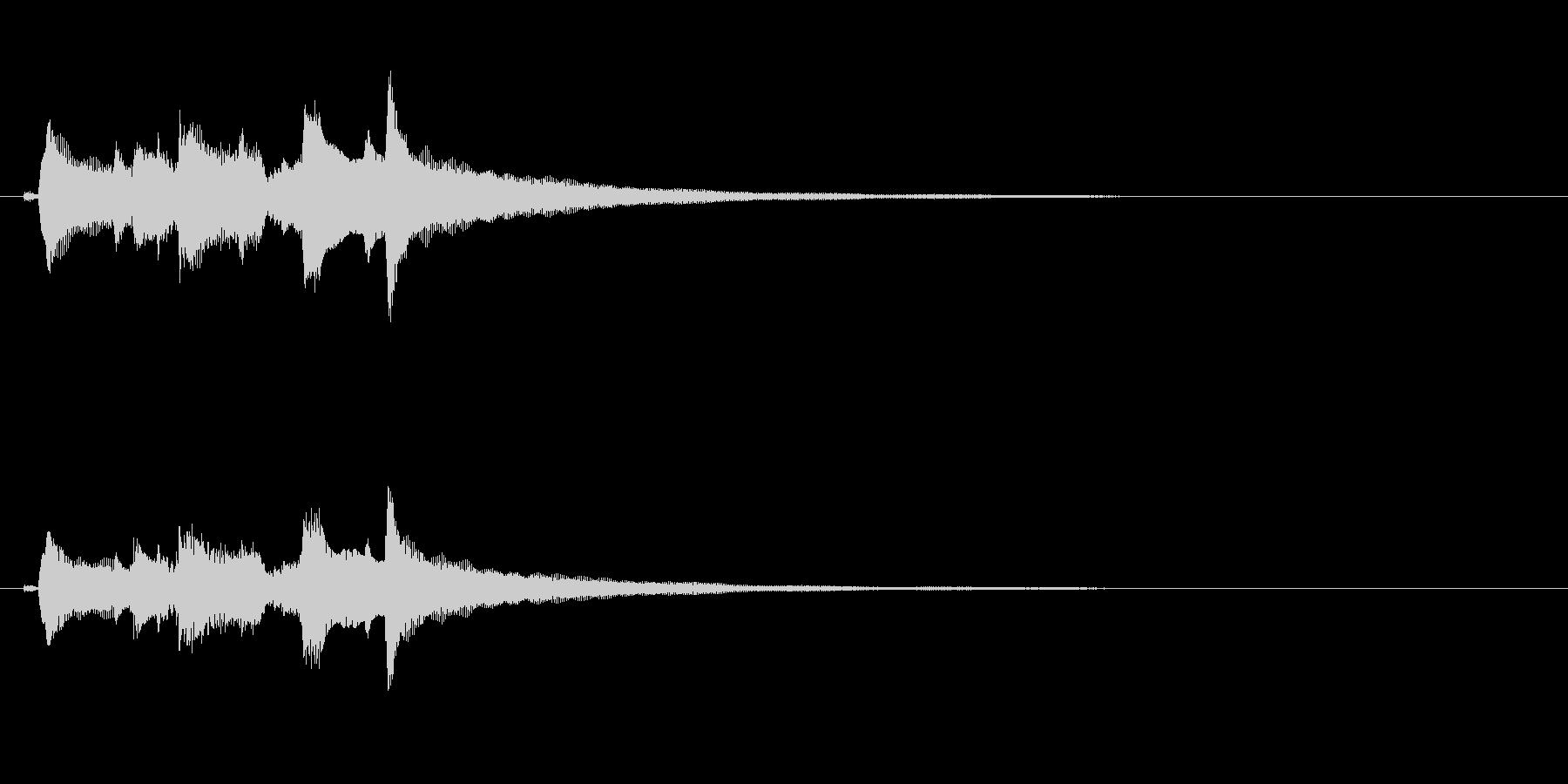 アコースティックギター、ハッピーコ...の未再生の波形