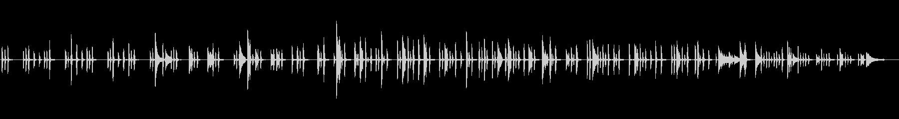 生ピアノソロ・きのこがニョキニョキの未再生の波形