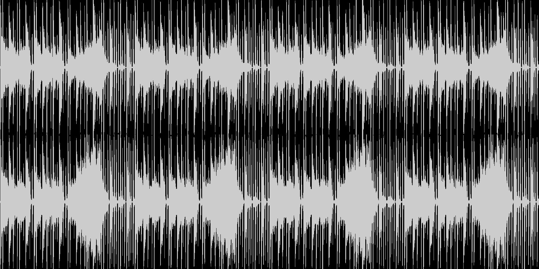 【近未来的雰囲気のHIPHOP】の未再生の波形