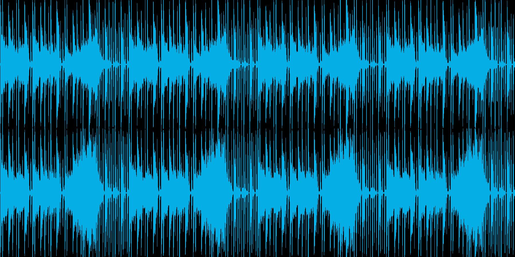 【近未来的雰囲気のHIPHOP】の再生済みの波形