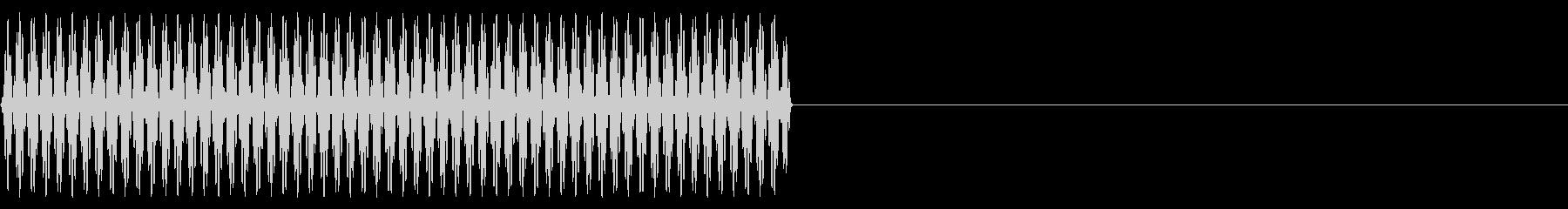 『ピッ』電話のプッシュ音(8)-単音の未再生の波形