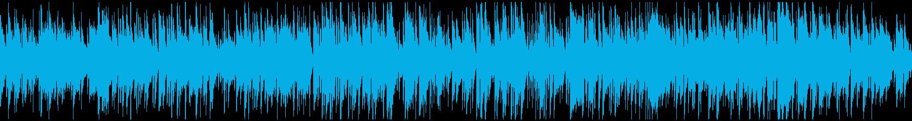 すっきり爽やかボサノバ、お洒落※ループ版の再生済みの波形