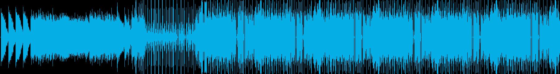 【おしゃれなハウスJAZZ】の再生済みの波形