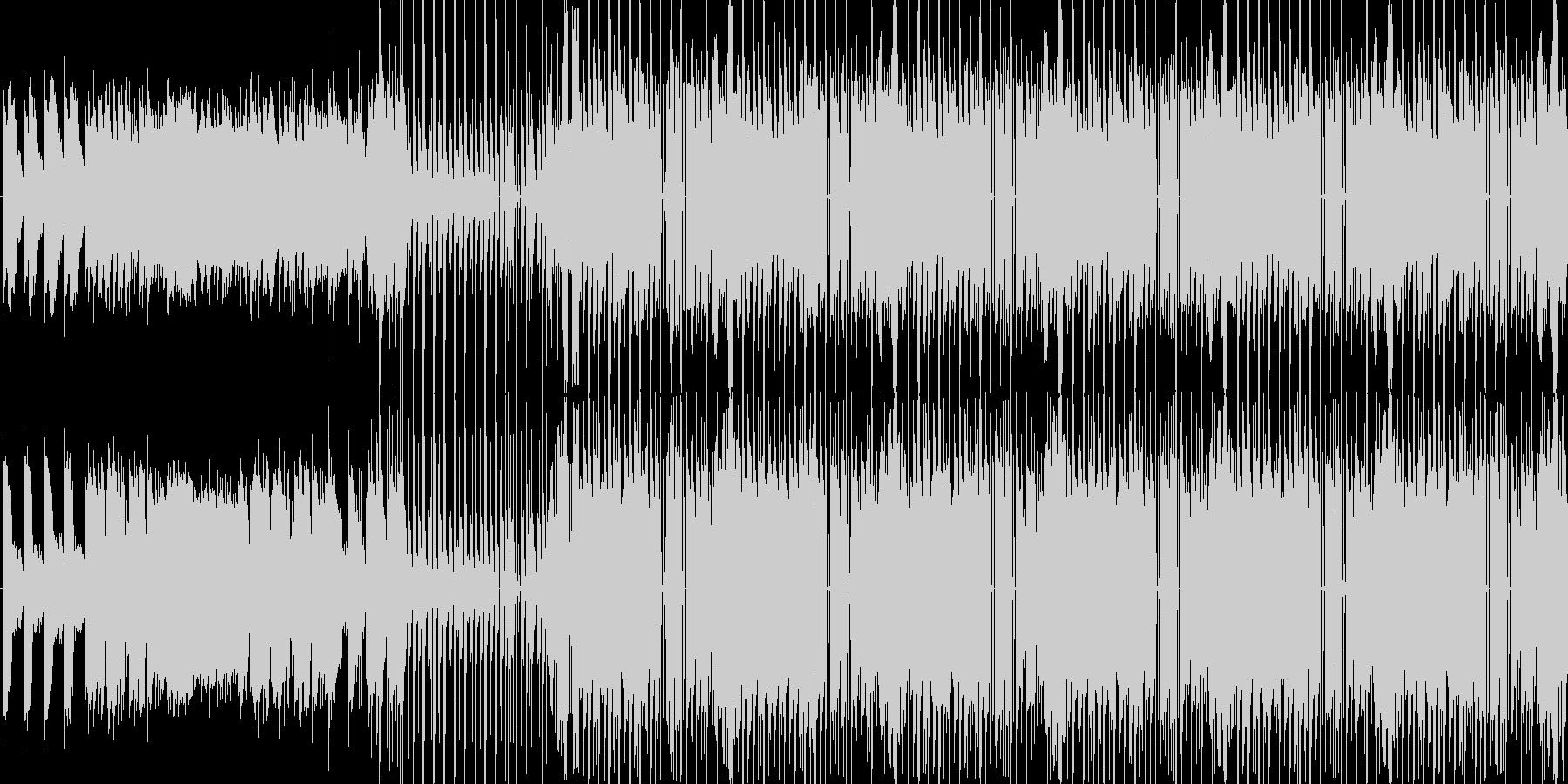 【おしゃれなハウスJAZZ】の未再生の波形