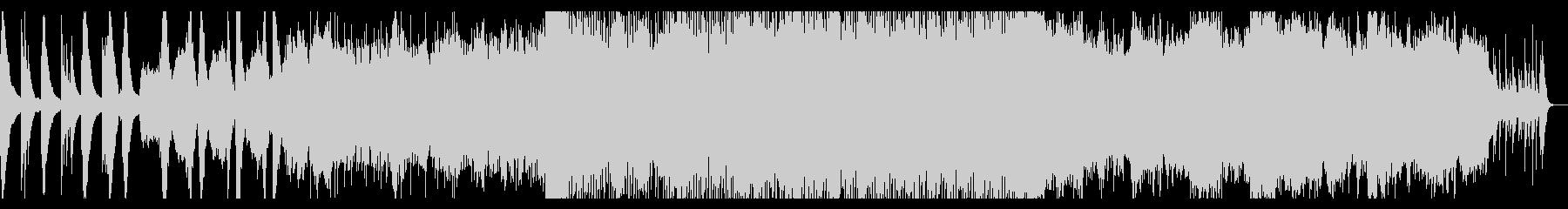 トトロっぽい浮遊感のある不思議なBGMの未再生の波形
