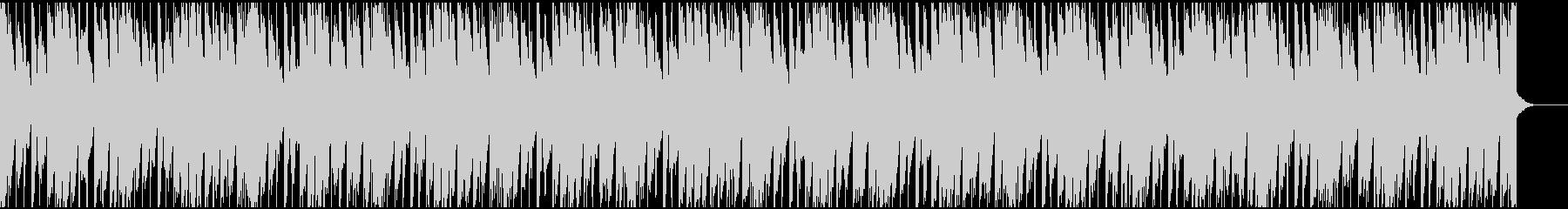 わくわくする可愛いBGMの未再生の波形