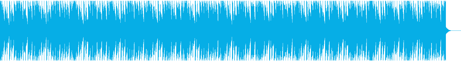 わくわくする可愛いBGMの再生済みの波形
