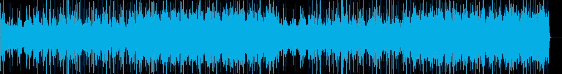 少し小洒落た雰囲気のジャズの再生済みの波形