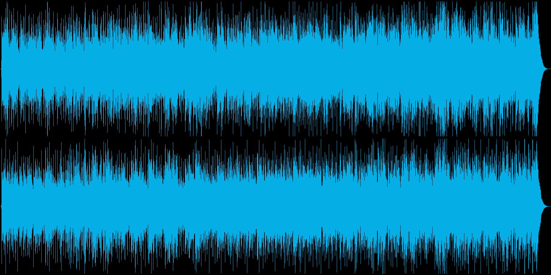 爽やかで軽快なアコースティクサウンド の再生済みの波形