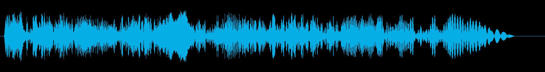 別の空間にジャンプするような不思議な音の再生済みの波形