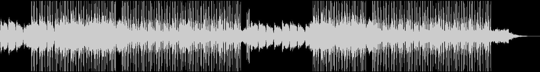 優しいピアノのBGM(チル系)の未再生の波形