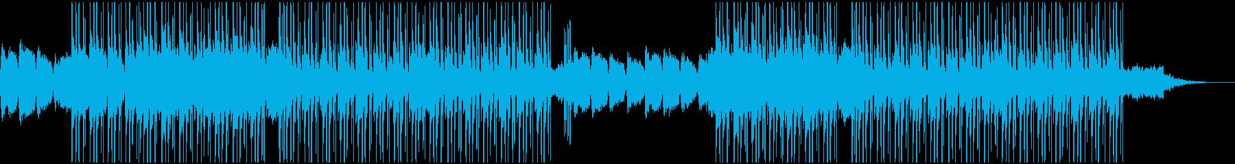 優しいピアノのBGM(チル系)の再生済みの波形